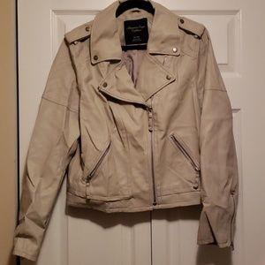American Eagle leather jacket, Size XL